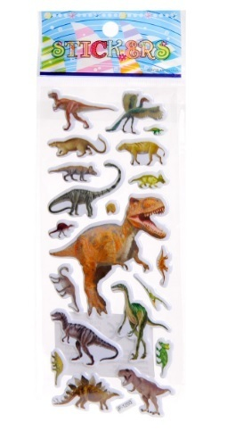 Stickers, Dinosaurus