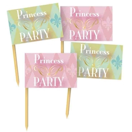 "Partyprikkers ""Prinses"" 36 st"