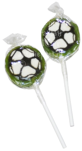 Voetbal lollie