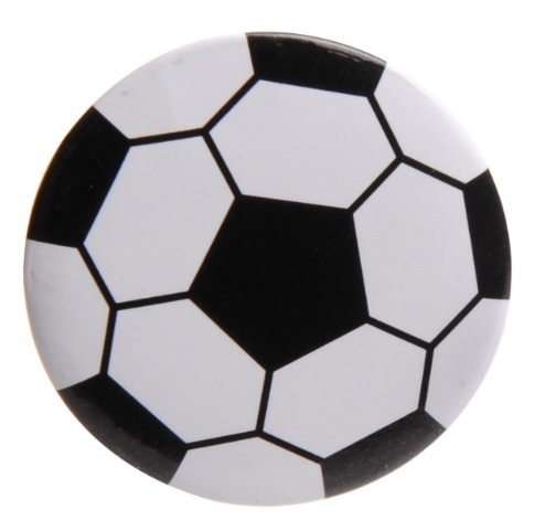 Voetbal button