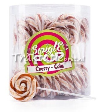 Swigle pop mini Cherry cola 12 gr.