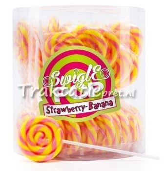Swigle pop mini Banana strawberry 12 gr.