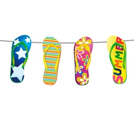 Summer party slinger Flipflops 10mtr.