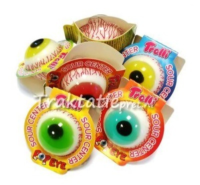 Trolli pop eyes