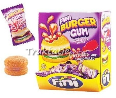 Fini Burger bubble gum 5 gram
