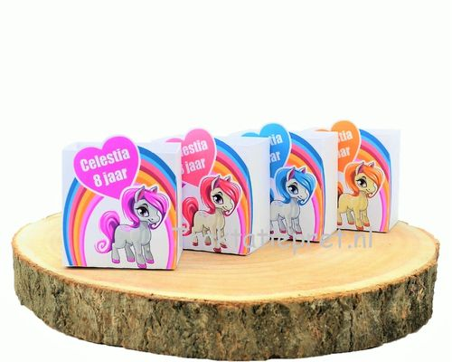 Little Pony, mini traktatie bakje