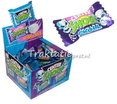 Center shock scary gum, 4 gram