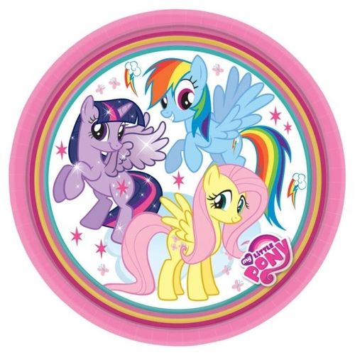 My Little pony bordjes, 8 stuks