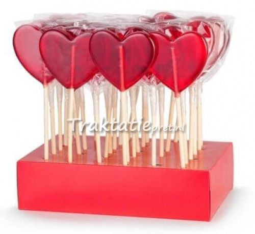 Lolly Red Heart 50 gr.